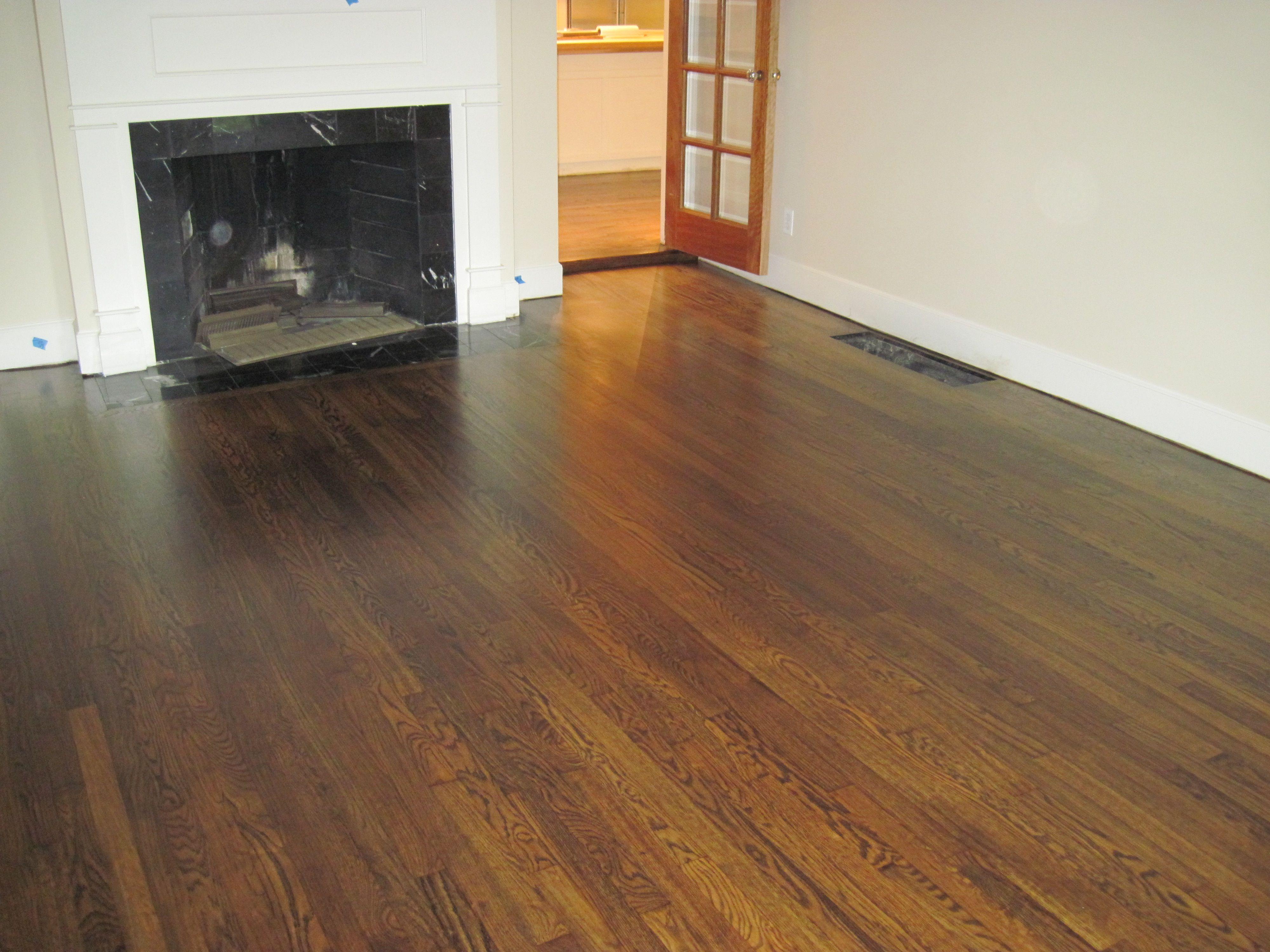 red oak floors stained walnut - Google Search | Floors ...