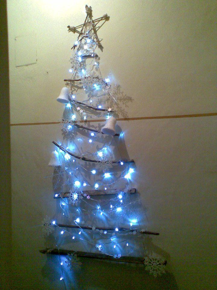 My eco, unconventional Christmas tree!!!