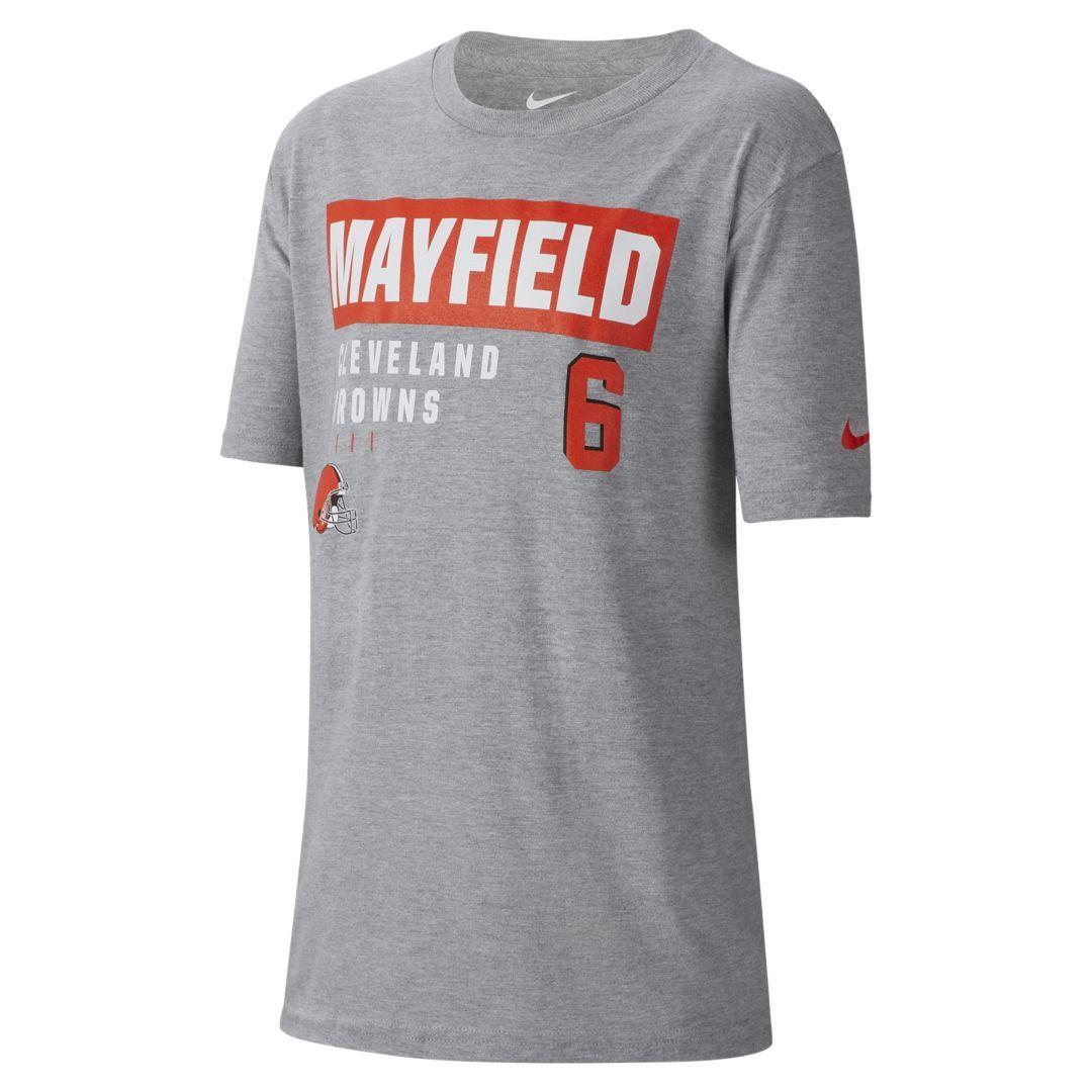 773a3e09 Nike NFL Cleveland Browns (Baker Mayfield) Big Kids' (Boys') T-Shirt ...