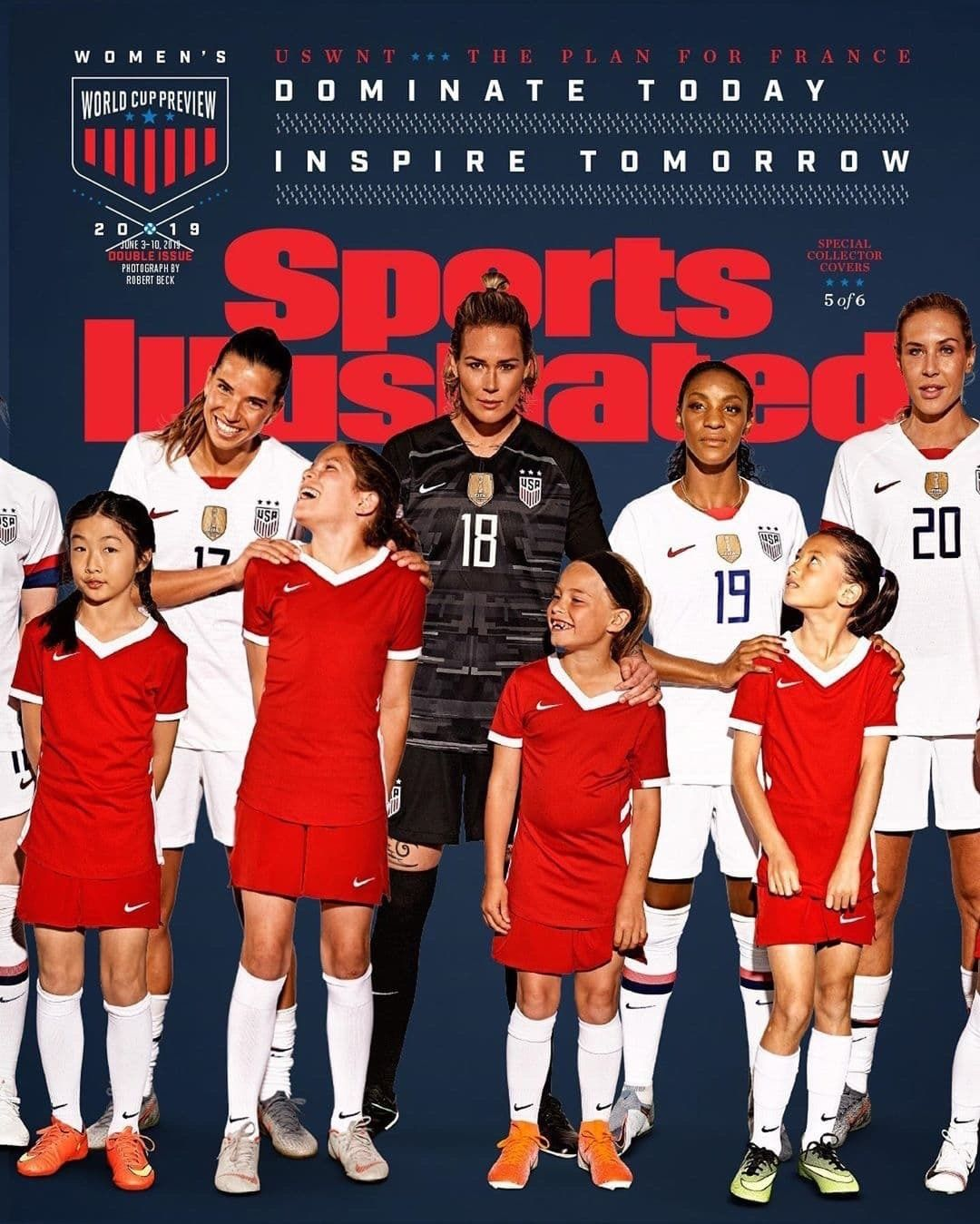 Tobin Heath Ashlyn Harris Crystal Dunn And Allie Long Uswnt Sports Illustrated 2019 Women S World Cup P Sports Illustrated Covers Sports Illustrated Uswnt