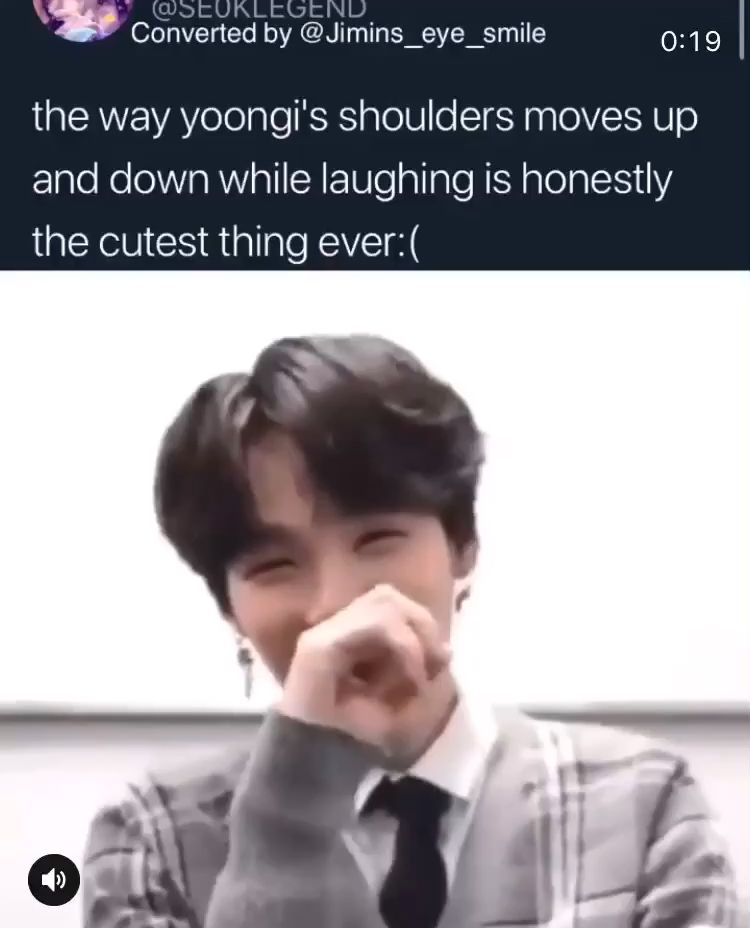 Yoongi is so soft