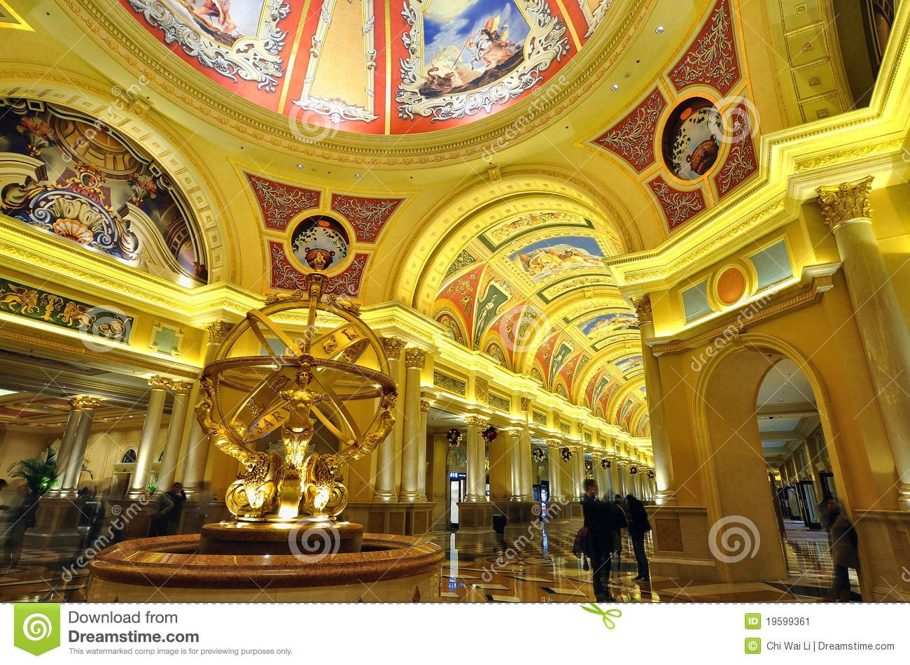 Interior Art Of Venetian Hotel At Macau Editorial Photo   Image Of Macau,  Light: 19599361. Interior Design ImagesReception ...