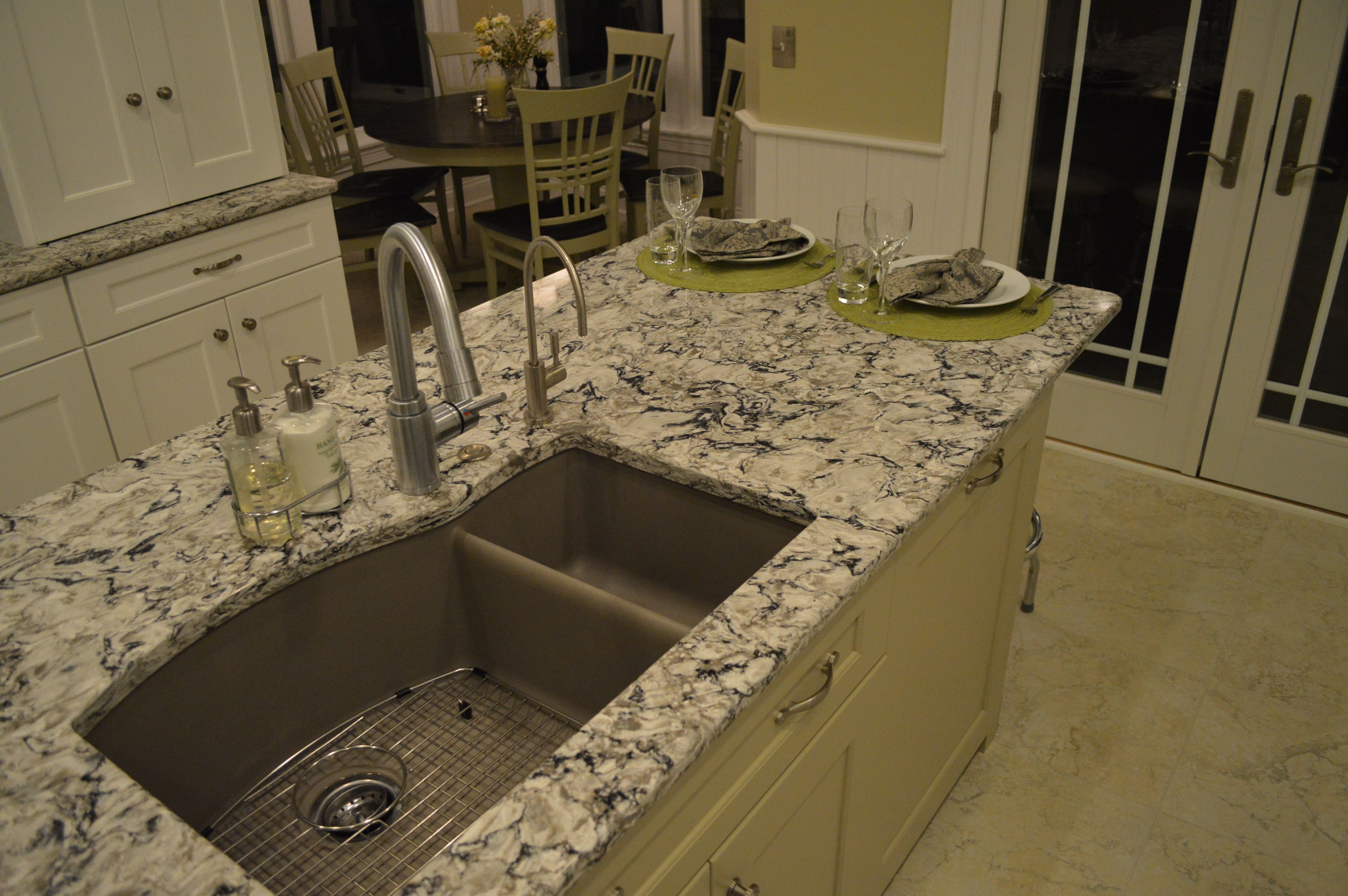 This Island Includes The Kitchen Sink In Truffle Color By