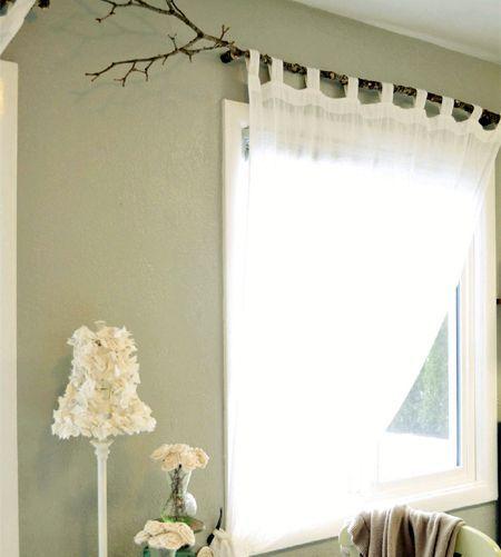 Tree Branch Curtain Rod 15 Diy Tutorials In 2020 Unique Window