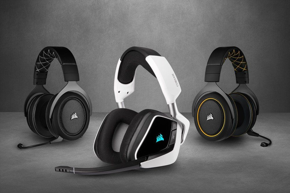 Corsair S New Void Elite And Hs Pro Headsets Rock Discord Ready Mic Headphones Headsets Wireless Gaming Headset