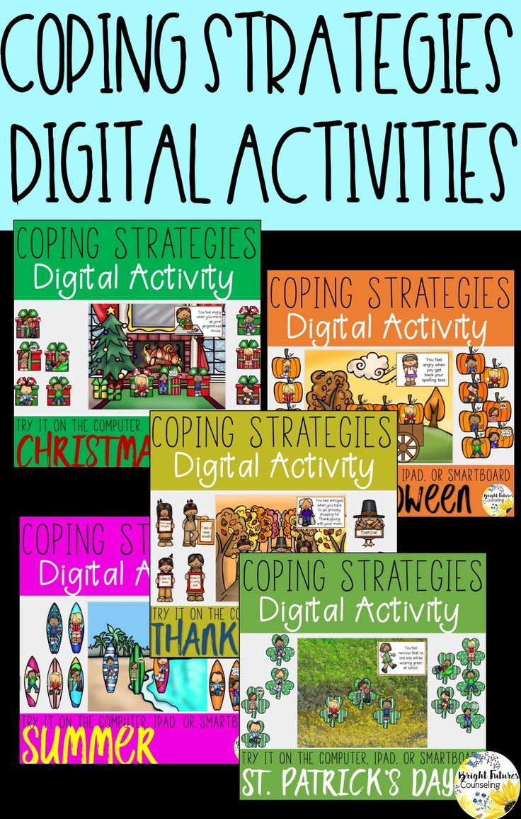 Distance Learning Coping Strategies Digital Activities