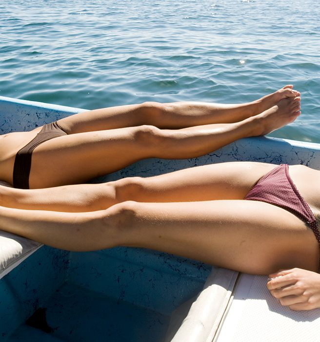 How I Permanently Removed All My Leg Hair In Under an Hour - Elle. (Works on blondes as well)