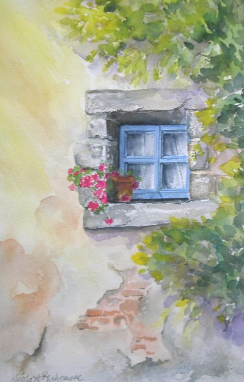 Online Water Colour Course With Personal Tuition From Nicola