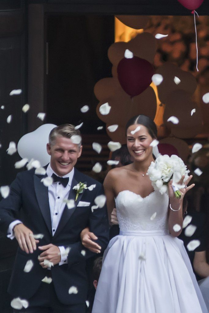 Ana Ivanovic S Second Wedding Dress Was Even More Breathtaking Than Her First Second Wedding Dresses Wedding Dresses Wedding Dress Pictures