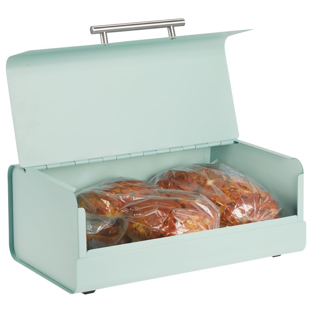 Metal Bread Box Keeper For Kitchen In 2020 Multipurpose Storage Mdesign Kitchen Storage Containers