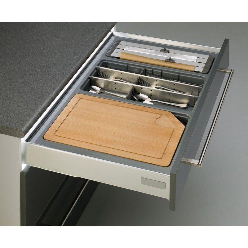 Cubertero para caj n de cocina cuberteros a medida for Cucharones de cocina