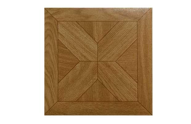 vinyl tile - parquet star (for hallway?)