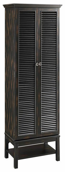 Best Crestview Collection Louvered Gold Blue Tall Accent 400 x 300