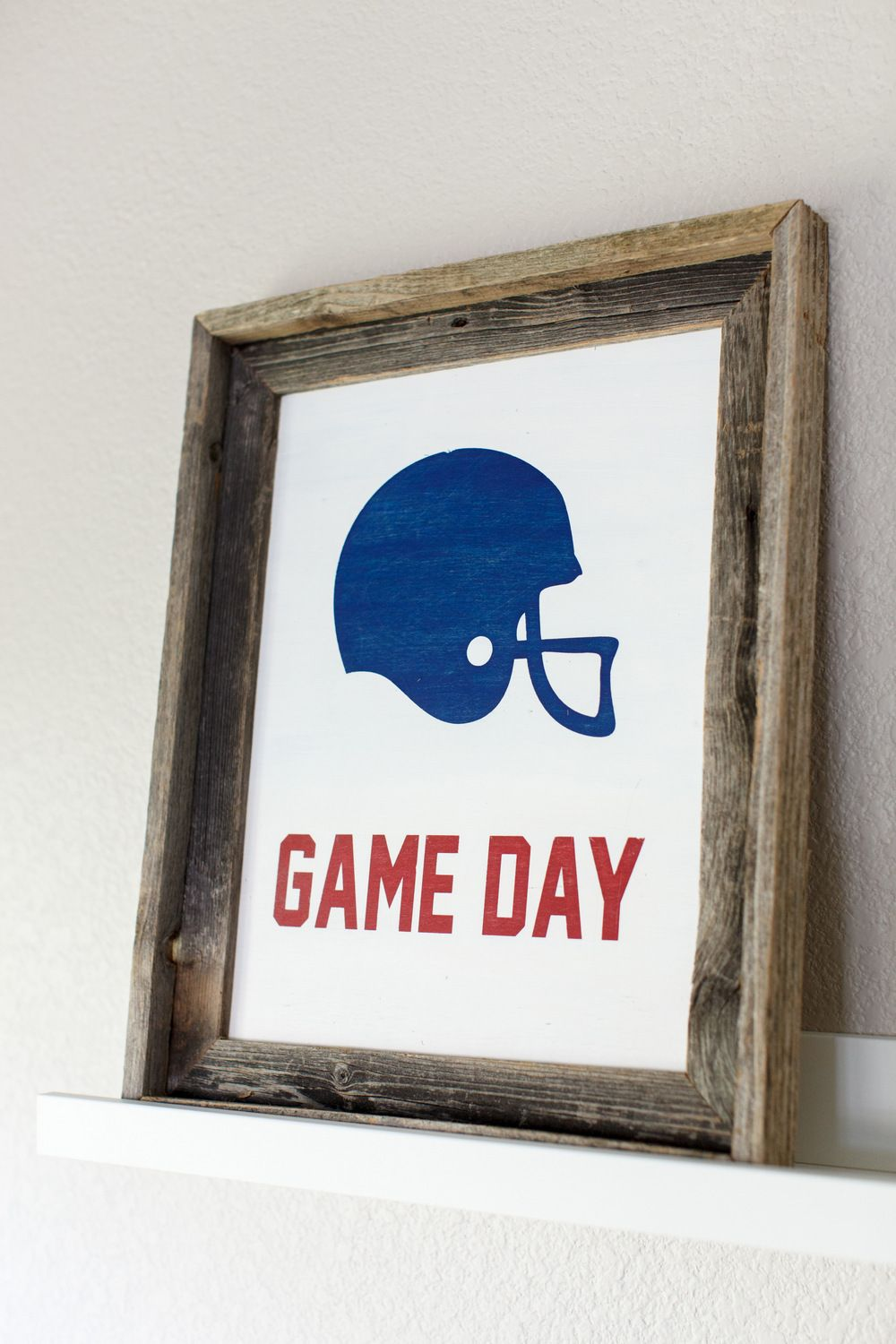 CHEER ON YOUR FAVORITE TEAM THIS FALL Football wall art