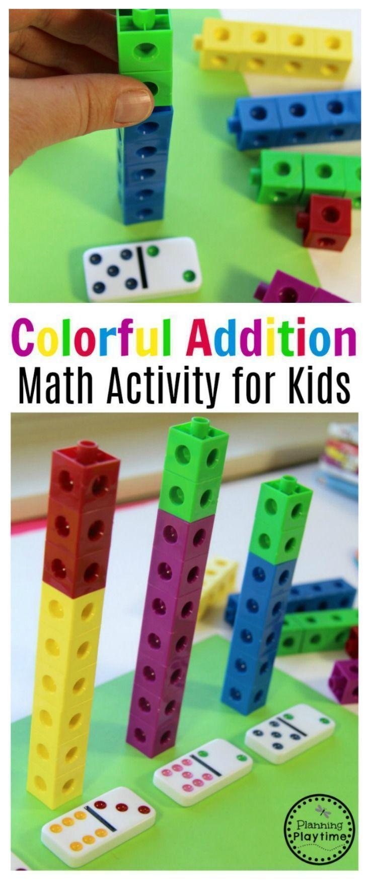 Kindergarten Addition Activity   Kindergarten addition, Fun math ...