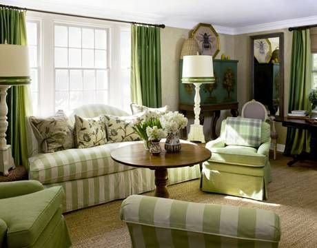 Curtains Emerald Green For Living Room