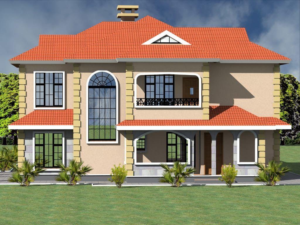 4 Bedroom Maisonette House Plan House Plans Maisonette House