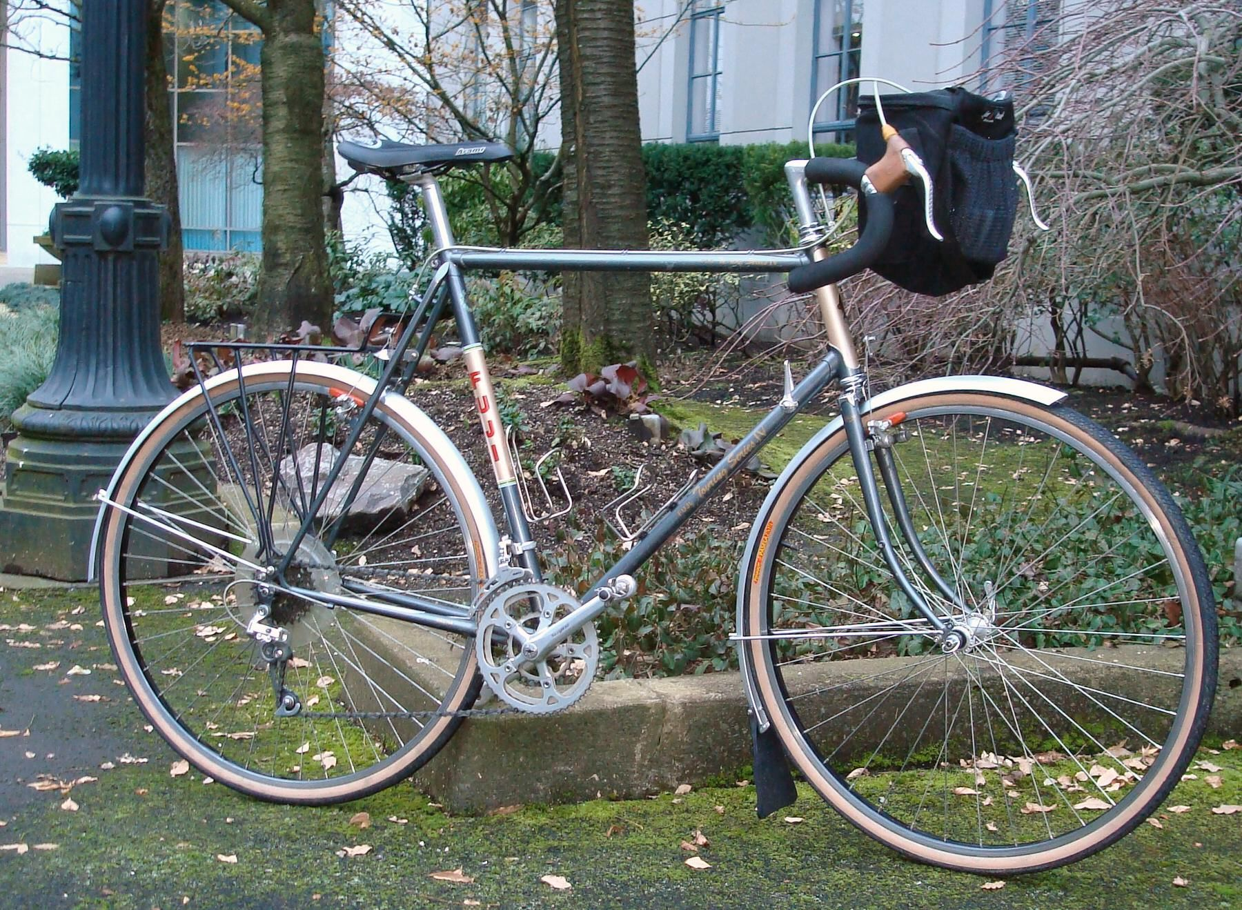 & of course       a Fuji bicycle | Vintage Bicycles | Touring bike