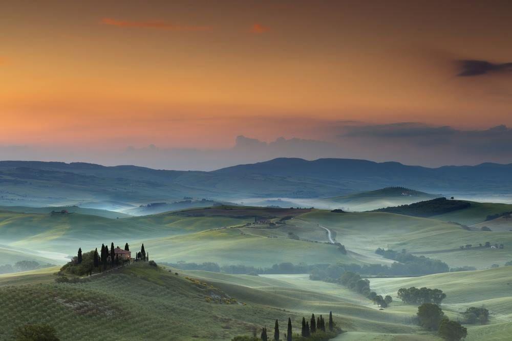 Val d'Orcia - Toscana