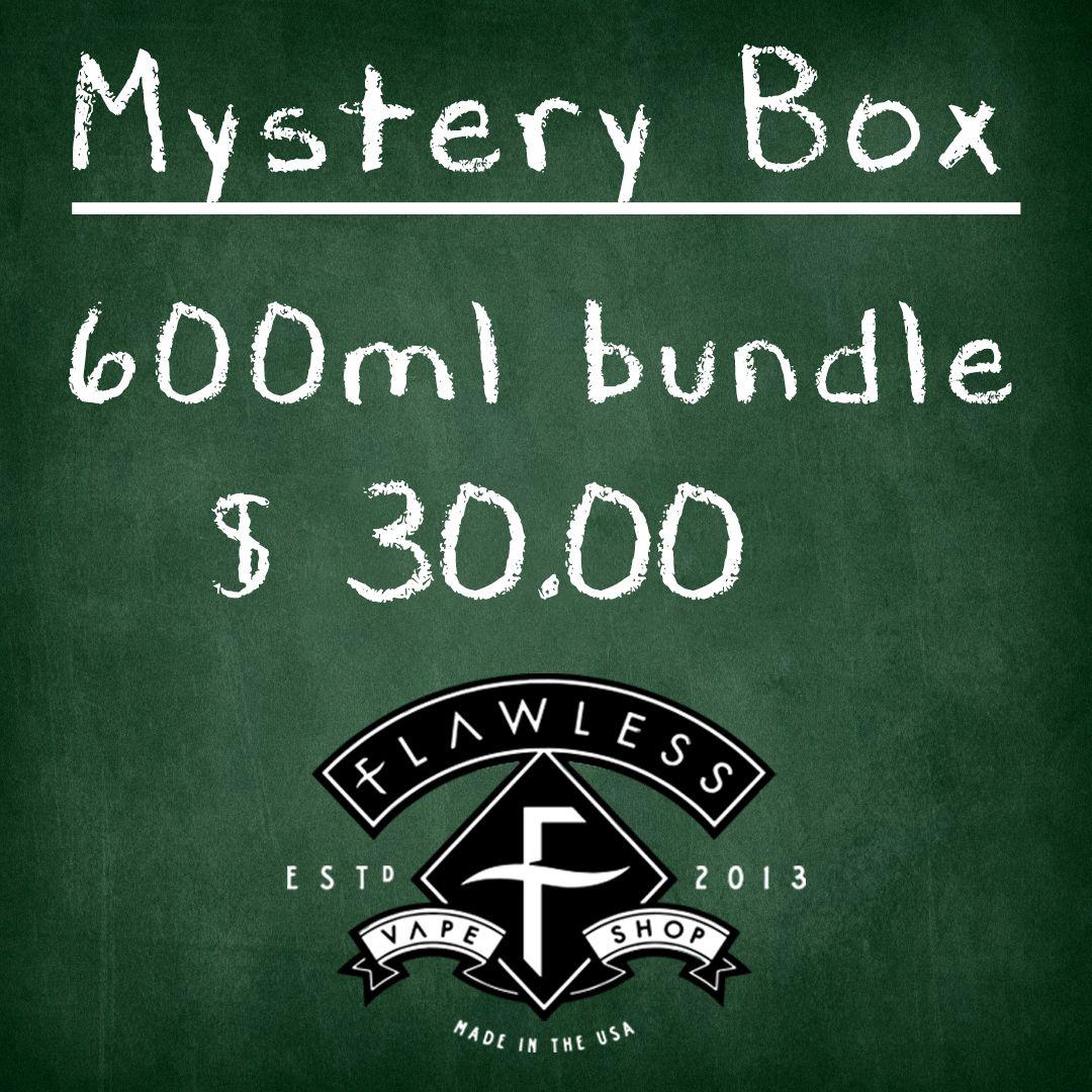 Vape deals  600 ML Mystery bundle  $30 00 Premium brand