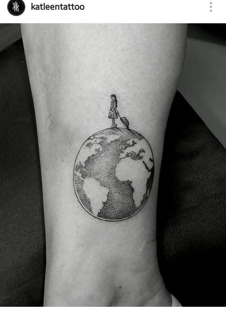 #travel #tatoo #earth #planet