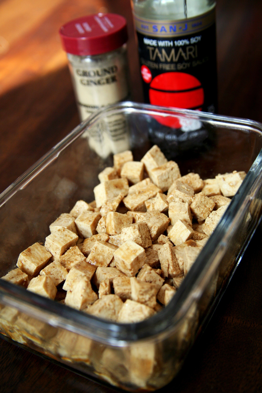 Simple Marinated Tofu