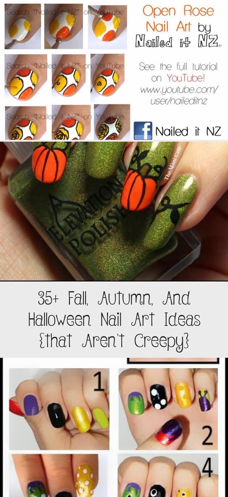 Photo of 35+ Fall, Autumn, And Halloween Nail Art Ideas {that Aren't Creepy} – Nail Art