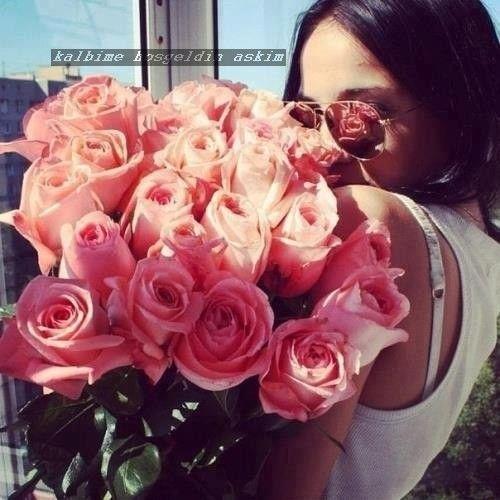 Pin By Kalbime Hosgeldin Askim On Qiz Ve Gul Sekilleri Love Flowers Pretty Flowers Flowers