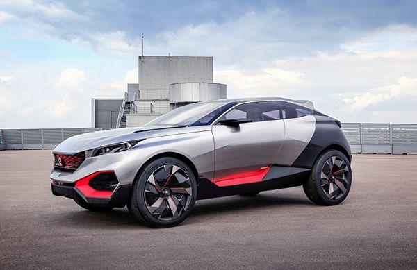 Making Of The Design Process Peugeot Quartz Concept Car Inside Style Exterior By Thomas Bergeron Interior Bruno