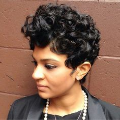 Short Hairstyles For Black Women Style Samba