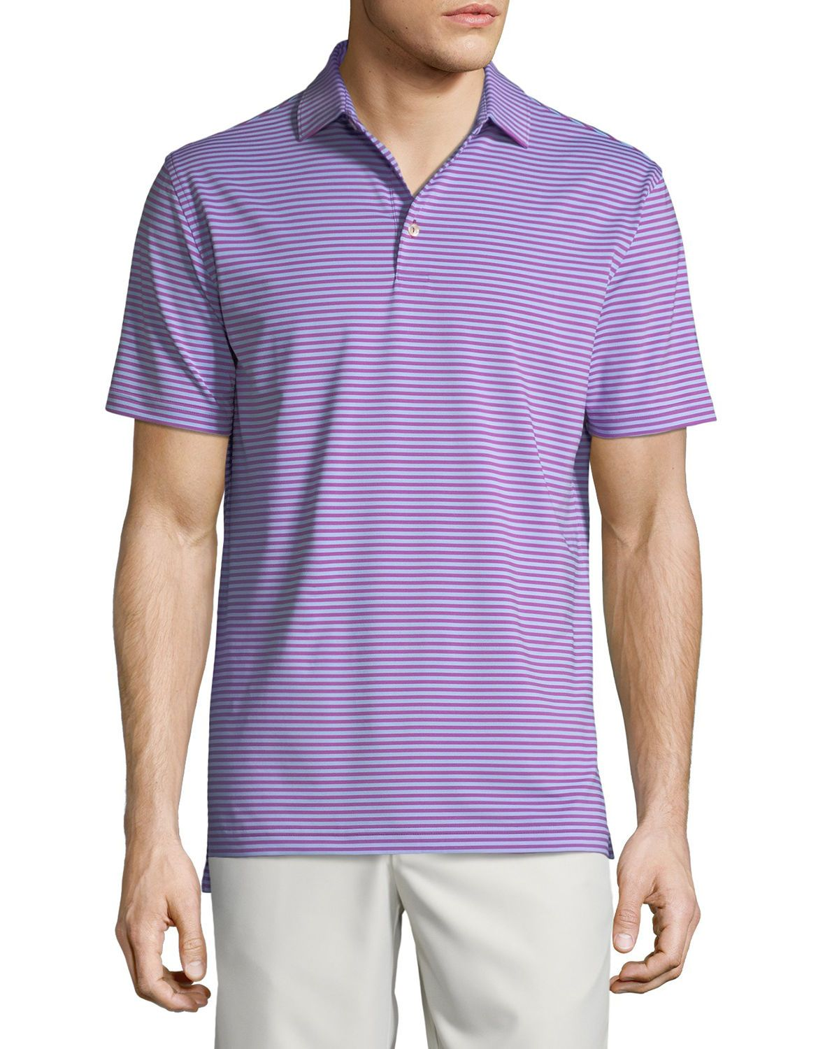 fe6b838777e PETER MILLAR MEN'S COMPETITION STRIPED POLO SHIRT. #petermillar #cloth