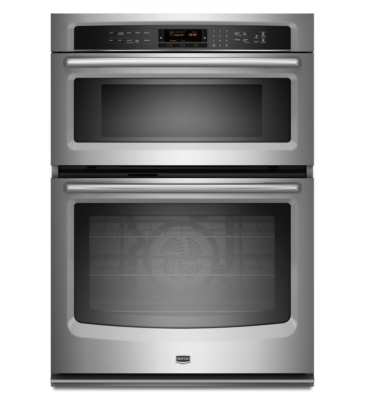 30 Inch Electric Combination Wall Oven And Microwave