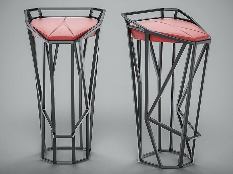 Rolans Novikovs Novikov Designs Octa Stool Geometry dynamic