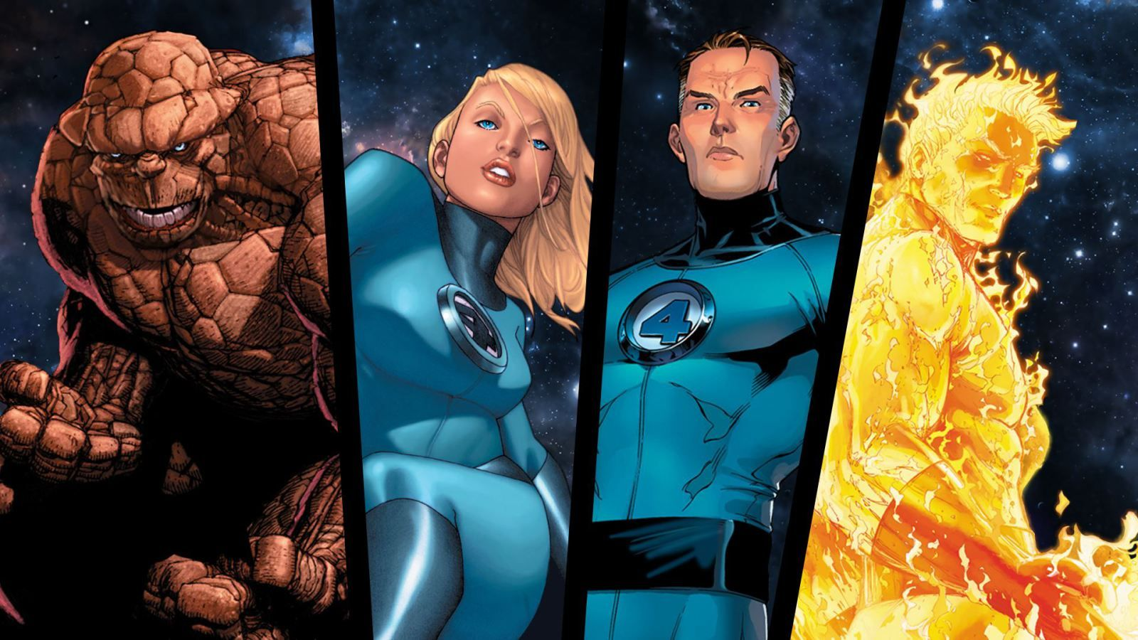 Fantastic Four Hd Free Wallpapers Cartoon For Desktop Fantastic Four Dc Comics Wallpaper Marvel