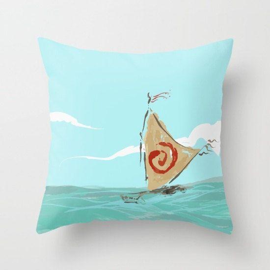 Princess Waikiki S Boat Moana Pillow With Insert By