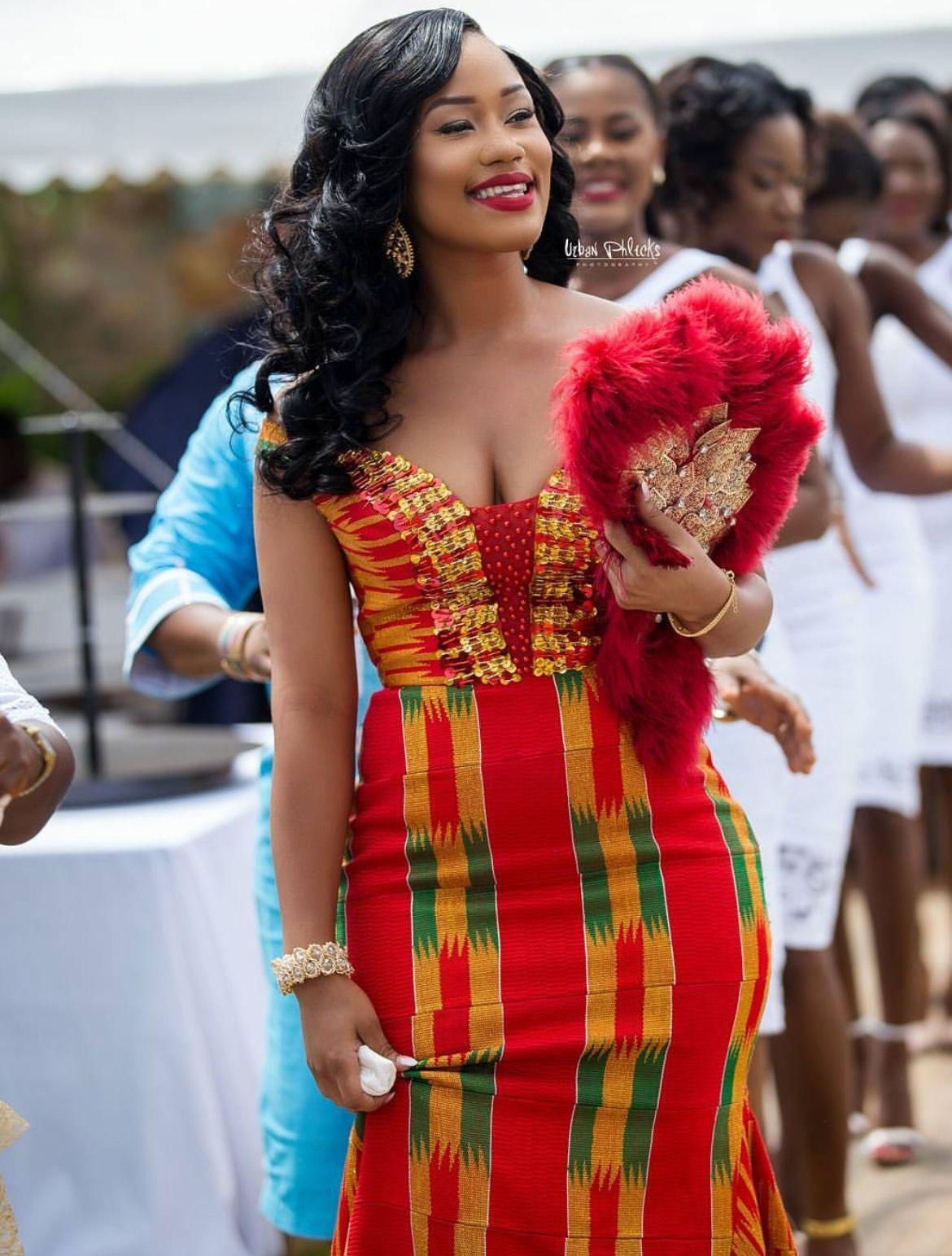 Ghana African Wedding Dress