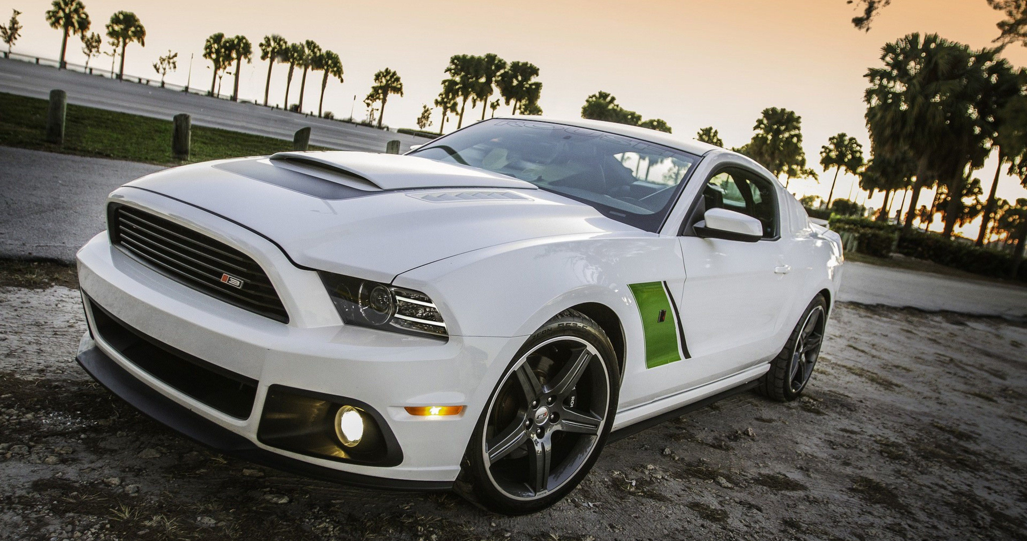 Ford Mustang Roush Ultra Hd Wallpaper Ololoshenka