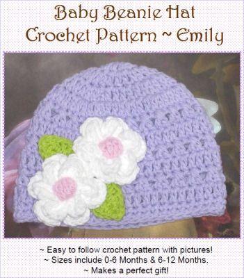 Crochet Pattern Central Free Hat Patterns  cba56ae429e