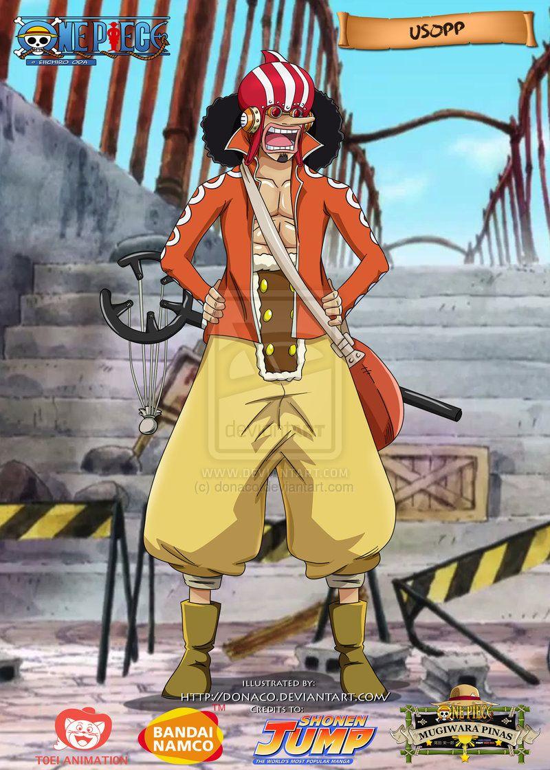 Usopp Dressrosa Outfit By Donaco On Deviantart Usopp One Piece Crew One Piece Man