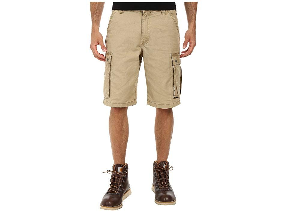 Carhartt Rugged Cargo Short Dark Khaki Mens Shorts Carhartt is known for the comfort and durability that suits your outdoor lifestyle and keeps you performing at your bes...
