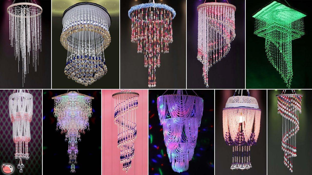 20 Home Special Pearls Chandelier Craft Ideas Diy Wall Hanging R Wall Hanging Diy Pearl Chandelier Diy Wall