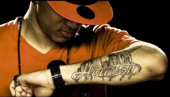 Kirko Bangz H Town Kirko Bangz Houston Tattoos Type Tattoo