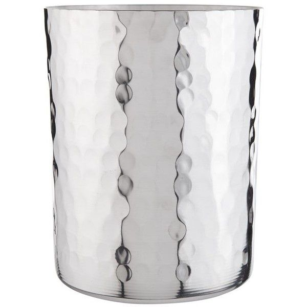 Mauviel Aluminium Hammered Utensil Jar (£73) ❤ liked on Polyvore featuring home, kitchen & dining and mauviel