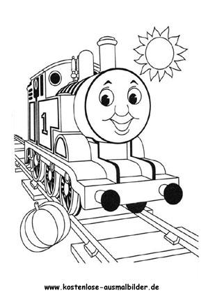 Ausmalbild Thomas Die Lokomotive Wenn Du Mal Buch Lustige Malvorlagen Malbuch Vorlagen