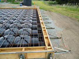 Cupolex is the environmentally friendly cost effective for Slab on grade foundation cost