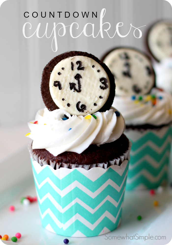 Countdown cupcakes for new years eve dessert food also recipe rh ar pinterest