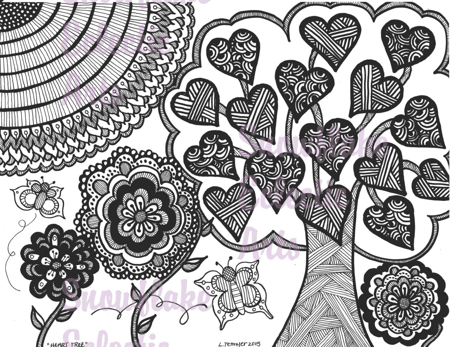 Pdf Of Coloring Pages : Diy coloring page instant pdf digital download printable color