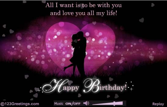 From my bella with love thank you sweetheart from my bella beautiful visuals and a romantic message for your sweetheart free online romantic birthday ecards on birthday bookmarktalkfo Image collections