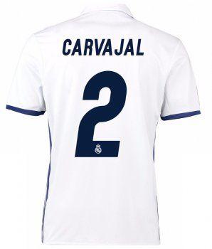 6f5b05da2 Real Madrid C.F Home 16-17 Season CARVAJAL #2 Soccer Jersey [G275 ...
