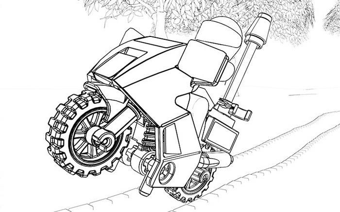 Read Morelego Police Motor Coloring Page Lego Coloring Pages